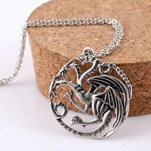 Jewelry - Daenerys Targaryen Dragon Necklace